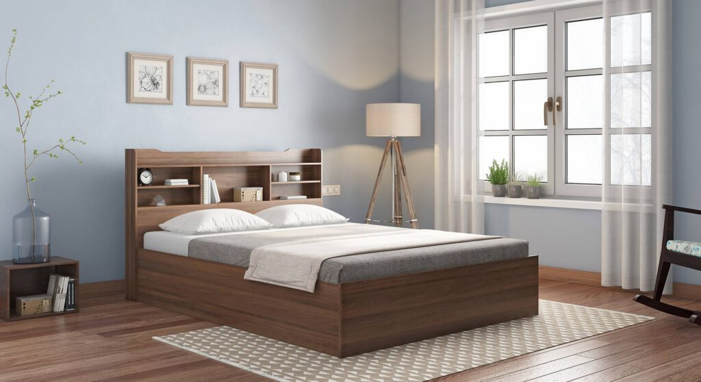 B2C Furniture's queen size bed frame